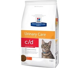 Hill's Feline c/d Multicare Urinary Stress, МКБ