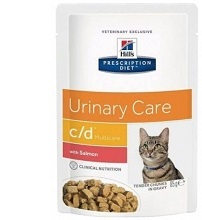 Hill's Feline c/d Multicare with Salmon (Пауч) 85 гр