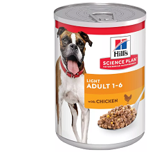 Hill's SP Canine Adult Light Chicken 370 гр